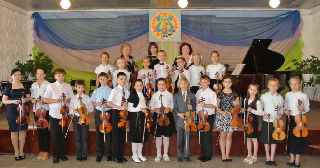 Творческие коллективы - Ансамбль скрипачей